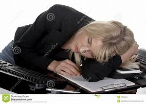 Tired At Work Stock Images - Image: 1675574