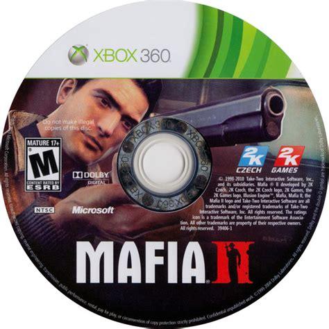 mafia ii  xbox  box cover art mobygames