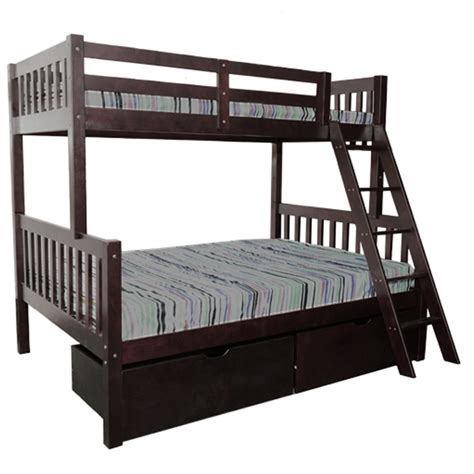trundle bed mattress thickness verona bunk bed espresso single bunks