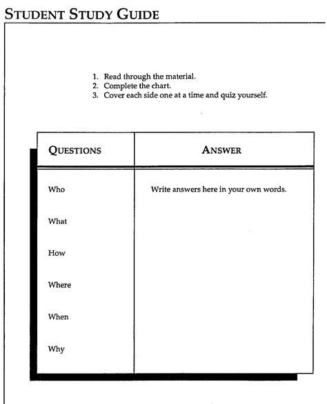 study template word student success mrs godfrey s history class