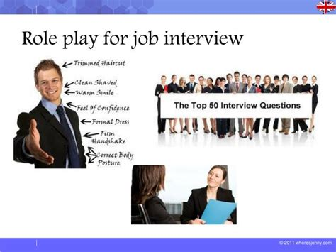 Ppt  Role Play For Job Interview Powerpoint Presentation Id2563469