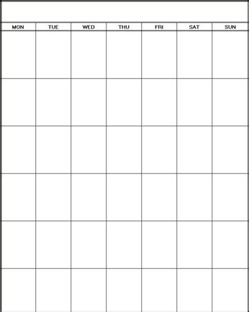 printable blank calendar printable blank calendar planners