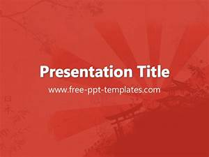 Japan ppt template for Japan powerpoint template free