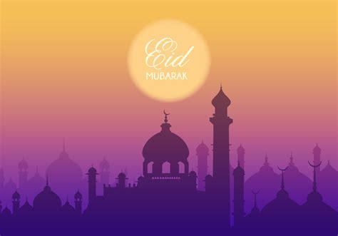 eid mubarak vector background   vector