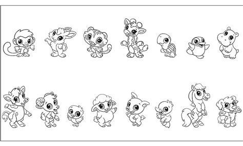 disegni da colorare cuccioli di disegni da colorare di animali cuccioli timazighin con