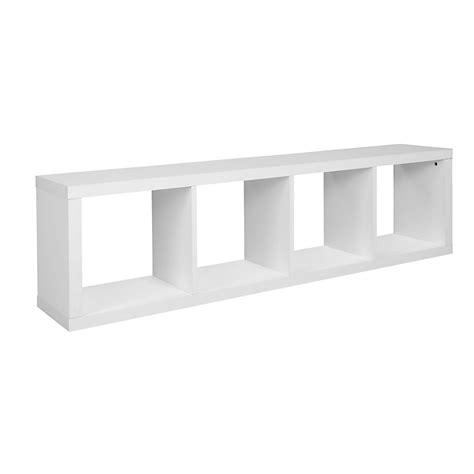 bureau billy ikea étagère 4 cases blanche kubico étagères rangements