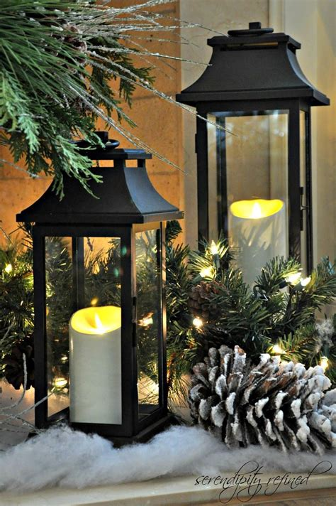 googlefsg 2012 christmas center piece cemterpiece mantel lanterns 2012 by serendipity refined