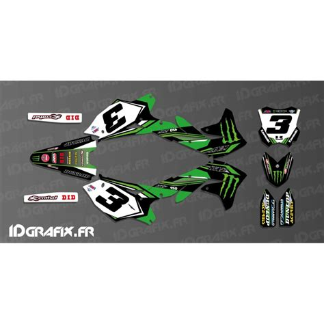 kit deco eli tomac replica for kawasaki kx kxf idgrafix