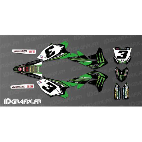 kit deco kxf 250 kit deco eli tomac replica for kawasaki kx kxf idgrafix