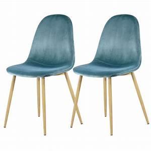 Chaise Velours Design : chaise fredrik en velours vert lot de 2 commandez les chaises fredrik en velours vert lot de 2 ~ Teatrodelosmanantiales.com Idées de Décoration