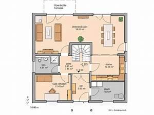 Haus Raumaufteilung Planen : die besten 25 grundriss einfamilienhaus ideen auf ~ Lizthompson.info Haus und Dekorationen