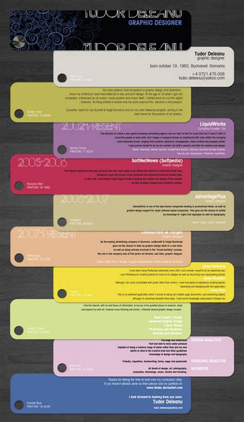 Best Creative Resumes by Creative Resume Best Way To Design Your Resume Xcitefun Net