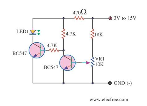 Battery Low Voltage Alarm Indicator Circuits Electronics