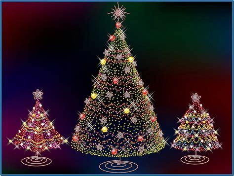 christmas tree lights screensaver