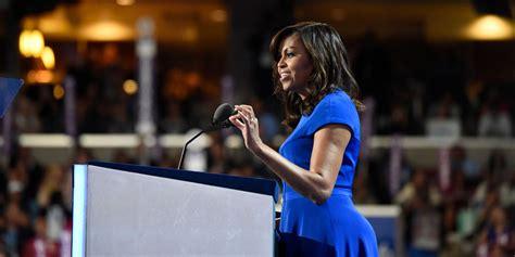michelle obamas powerful monday night speech wowed