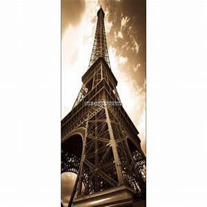 Tour Eiffel Deco : sticker frigo d co cuisine tour eiffel stickers muraux deco ~ Teatrodelosmanantiales.com Idées de Décoration