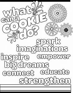 50 Best Girl Scout Coloring Pages  Images On Pinterest