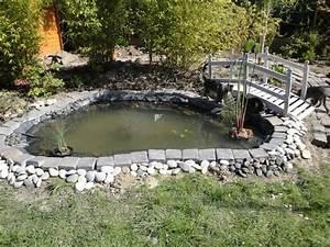 comment faire une mare bassin dans son jardin qrmaison With decorer son jardin avec des galets 2 comment faire une calade de galets pour un jardin