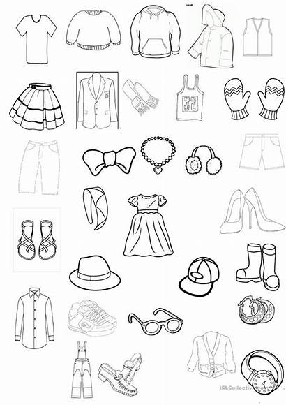 Worksheet Colouring Coloring Clothes Worksheets Spanish Printable