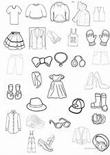 Worksheet Clothing Colouring Coloring Printable Worksheets Esl English Clothes Vocabulary Pages Activities Learning Overalls Printables Games Screen sketch template