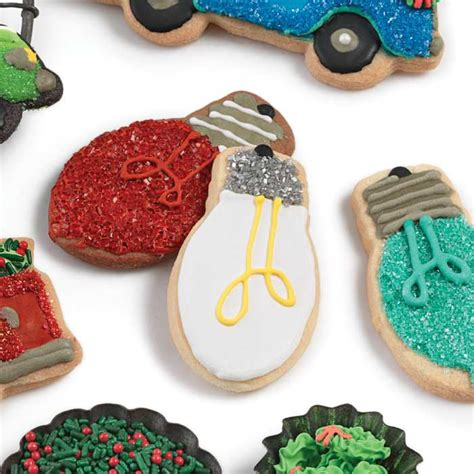 light bulb holiday cookie cutter