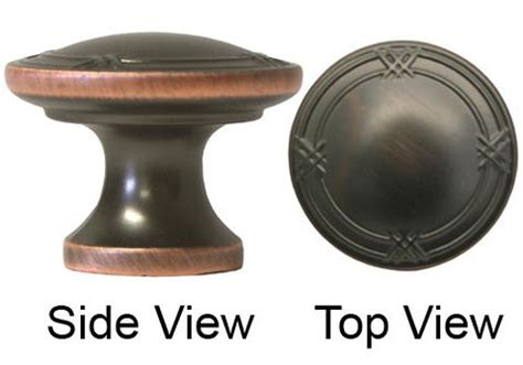 """Oil Rubbed Bronze Cabinet Drawer 1 14"""" Ribbon & Reed"""