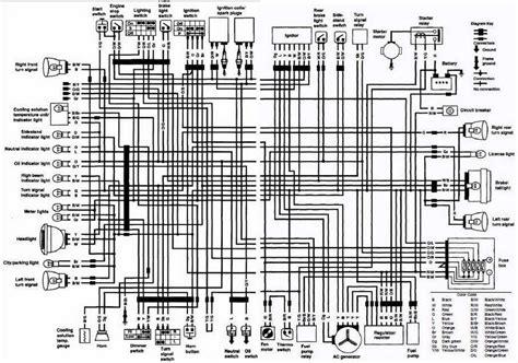 Wiring Schematic For Suzuki Intruder by Suzuki Vs700 Intruder Motorcycle 1986 Complete Electrical