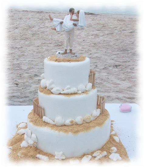 5 awesome ideas beach wedding cakes wedding cakes