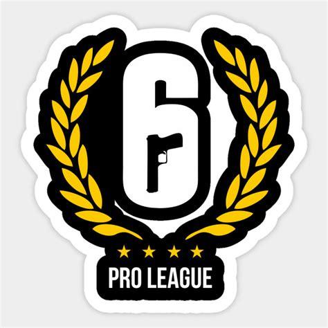 siege med rainbow six pro league rainbow sticker teepublic