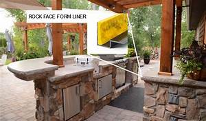 Construct, Your, Own, Outdoor, Kitchen, With, Concrete