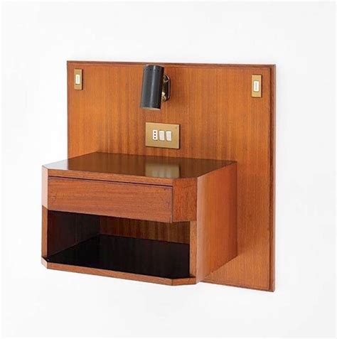 wall mounted nightstand ico parisi wall mounted nightstand from hotel