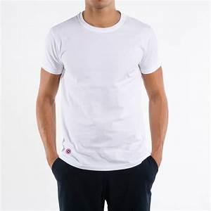T Shirt Homme Blanc : t shirt blanc pour homme le slip fran ais ~ Melissatoandfro.com Idées de Décoration