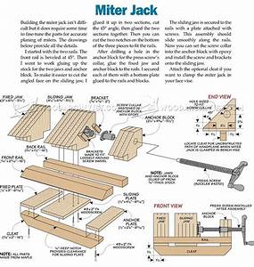 Miter Jack Plans • WoodArchivist