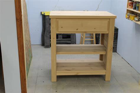 unfinished wood kitchen island custom made solid wood kitchen island by i mobili inc