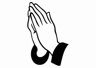 Hands Praying God Clipart Prayer Silhouette Svg