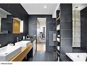 Deco Salle De Bain Gris : deco salle de bain gris et rouge ~ Farleysfitness.com Idées de Décoration