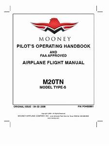 Pilot U2019s Operating Handbook  And Faa Approved