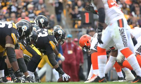 numbers breaking  browns   loss  steelers