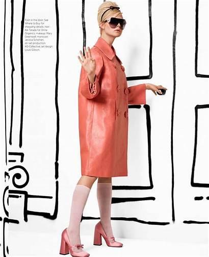 Fanning Elle Bazaar Magazine Harpers March Harper