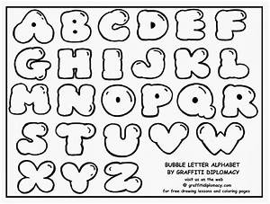 Graffiti creator styles alphabet graffiti bubble letters for Alphabet in bubble letters