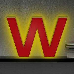 Lampe Mit Buchstaben : beleuchteter holzbuchstabe w led lampe led buchstaben ~ Watch28wear.com Haus und Dekorationen