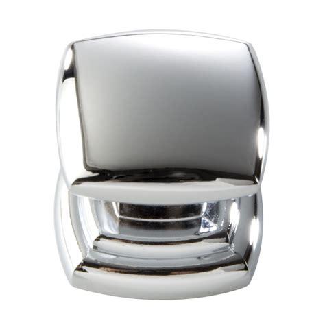 square chrome cabinet knobs shop hickory hardware euro contemporary chrome square