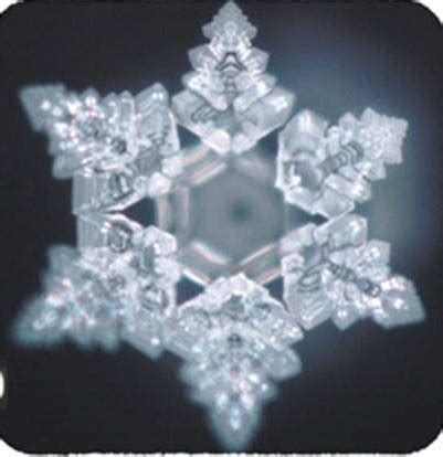 kristal heksagonal molekul air  indah kimiasmandung