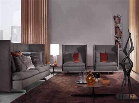 Armchair And Sofa Grantorino By Poltrona Frau