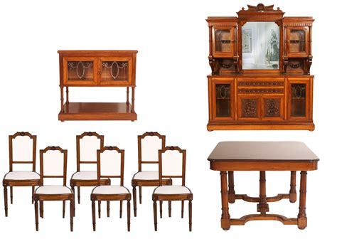 soggiorno sala da pranzo antico soggiorno sala da pranzo completa neoclassico luigi