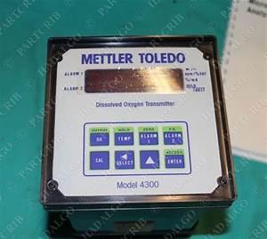 Mettler Toledo  314303000  Model 4300 D O  Transmitter
