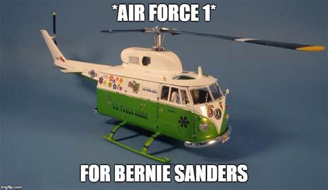 Air Force One Meme - bernie sanders air force 1 imgflip