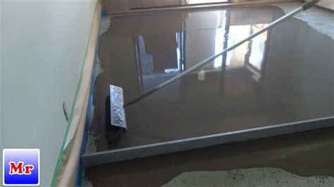 concrete floor leveling   apartment