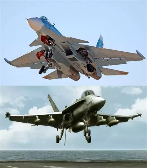 How Does Sukhoi Compare To F-18 Hornet