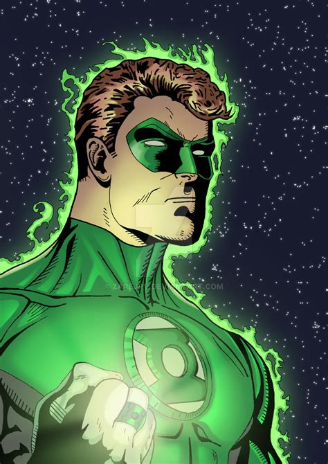 green lantern hal by zarejpv on deviantart